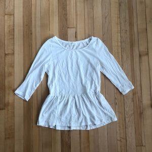 🌸 LOWEST ⬇️ Zara Peplum Top Size S